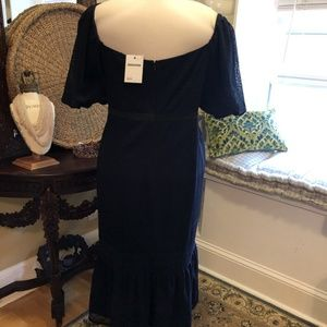 ASOS Curve Dresses - Asos - NWT 22W Navy Blue Lace Dress